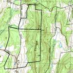 Foxbard farm and Shingle Hill tract outlined in black.