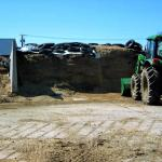 Feed and farm equipment at Mapleline.