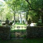 Garden gate in Ashintully Gardens