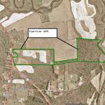 Egerton aerial map