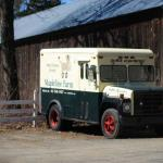 The Mapleline Farm Home Delivery Service brings milk to the doorsteps of over 500 customers.