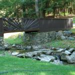 Bridge in Ashintully Gardens