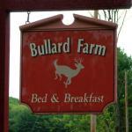 Bullard Farm sign
