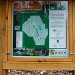Chestnut Hill trail map