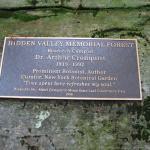 Cronquist Memorial plaque