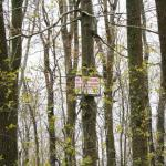 A pair of signs protecting the Cole's Brook area.