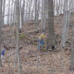 John Payne's land has some varied and interesting terrain.
