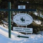 Prouty Forest sign